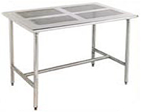 Perforated Stainless Steel Clean Room Table