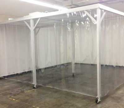 Portable Softwall Clean Room